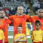 Sneijder Robben e de Jong