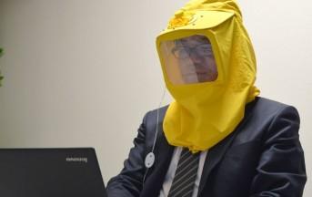 """Arriva dal Giappone """"USB Pollen Mask"""", la maschera che elimina il 99,9% di pollini nell'aria"""