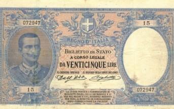 25 lire nel libretto bancario datato 1924: ora Bankitalia dovrà rimborsare 7mila euro
