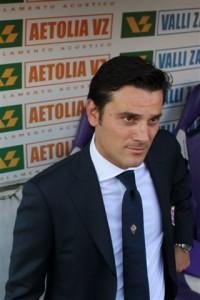 Vincenzo Montella mister della Fiorentina