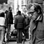 Woody Allen sul set