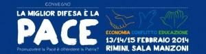 convegno pace e non violenza Rimini 2014