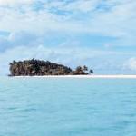 isola deserta pacifico