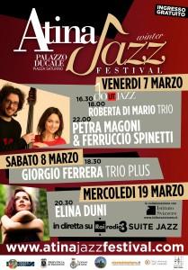 locandina atina jazz festival