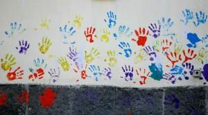 mani colorate ManualMente fiera Torino 2014