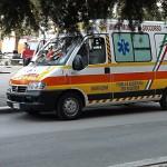 ambulanza bloccata