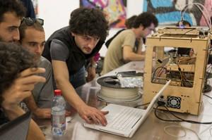 giovani staff stampanti3D