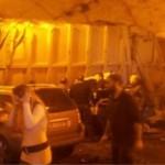 A20 incidente in galleria