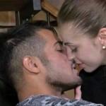 Aldo e Alessia bacio corteggiamento