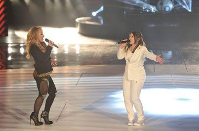 Deborah duetta con Anastacia Amici 14