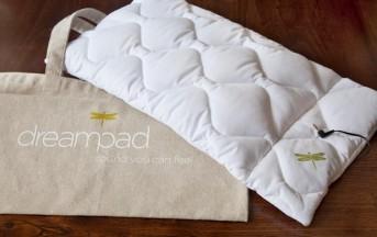 DreamPad, il cuscino hi-tech per ascoltare musica senza che gli altri sentano