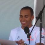 Lewis Hamilton ritratto