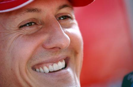 Michael Schumacher testimonial spot acqua