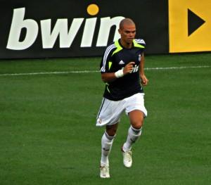 Pepe del Real Madrid