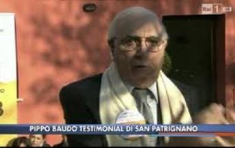 Pippo Baudo insulta la Dama Bianca in diretta tv