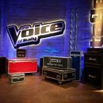 The Voice of Italy studio