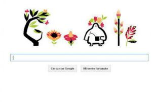 doodle google primavera