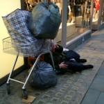 homeless censimento Roma 2014