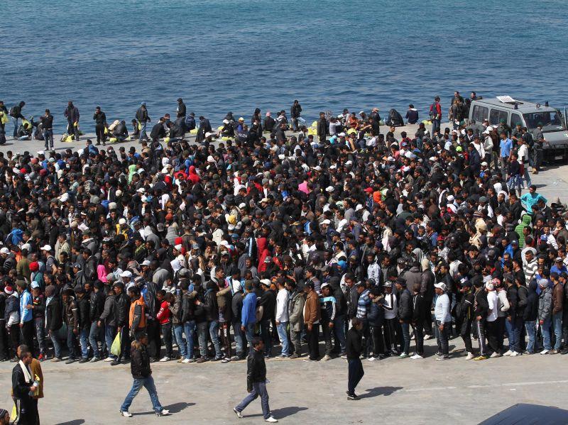 bimba siriana muore nel canale di sicilia