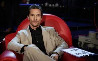 Brad Pitt, Matthew McConaughey: da una terrazza all'altra volano birre
