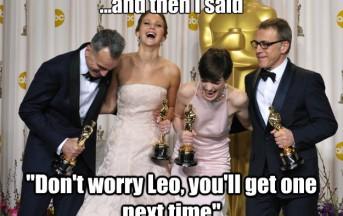 Oscar 2014: il dramma di Leonardo Di Caprio, se solo Rose gli avesse fatto spazio