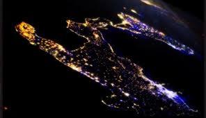 sud foto dal satellite