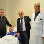 Amir si risveglia dal coma