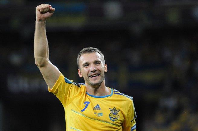 Andriy Shevchenko Ucraina