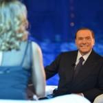 Berlusconi a Domenica Live