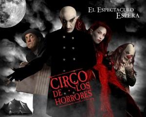 Circo de Los Horrores locandina