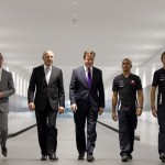 David Cameron al centro