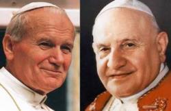 Giovanni Paolo II e Giovanno XXIII