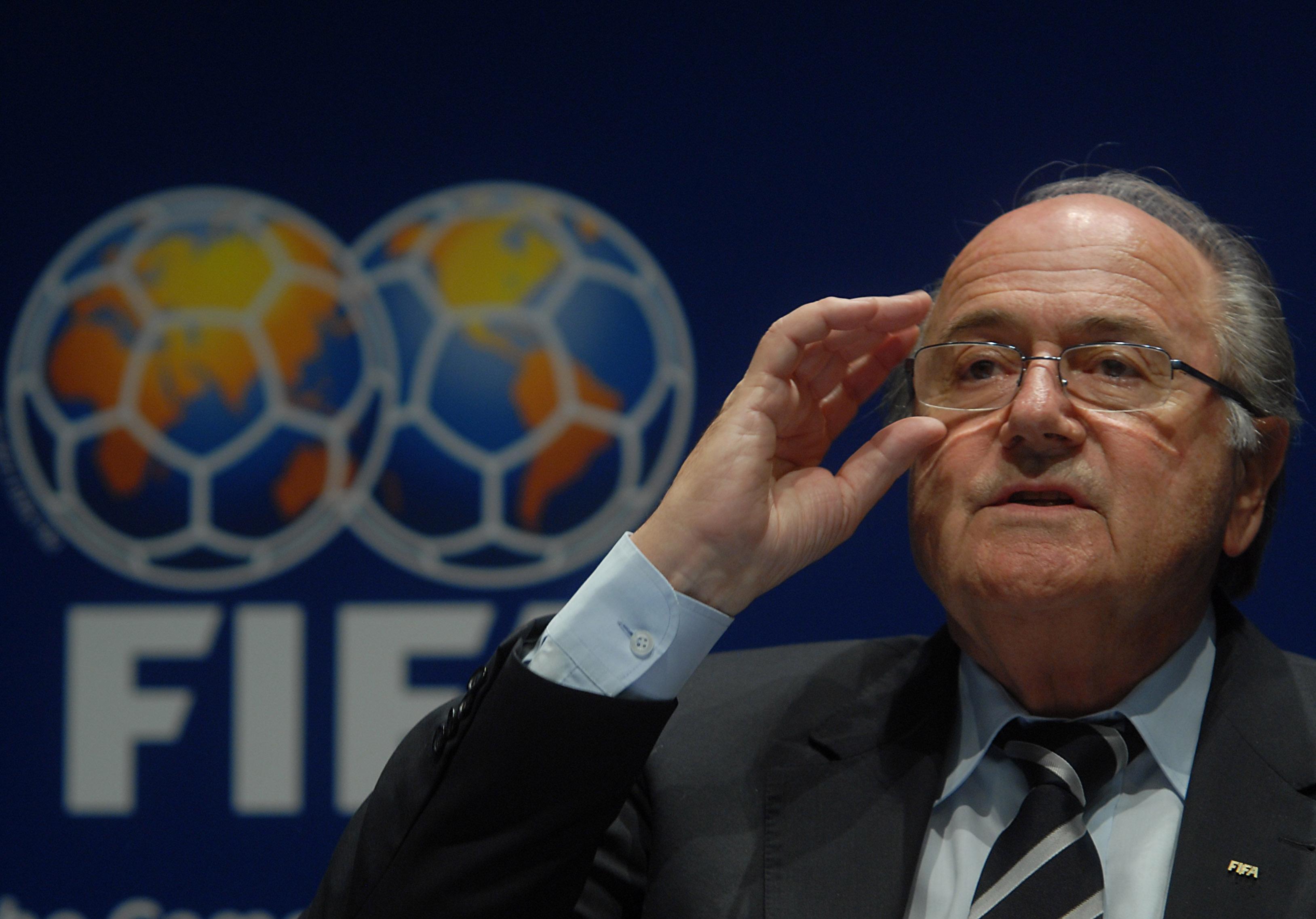 Joseph Blatter moviola elezioni