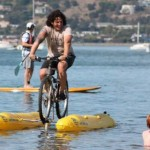 Judah Shiller water bike