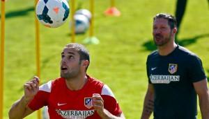 Mario Suárez e Simeone facebook2