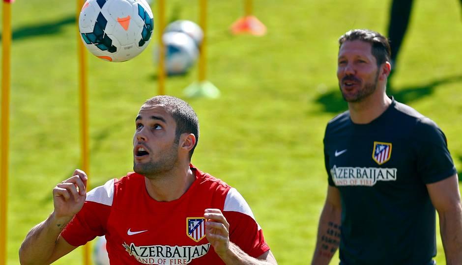 Mario Suárez e Diego Simeone facebook