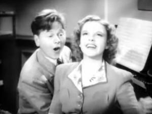 Mickey Rooney e Judy Garland2