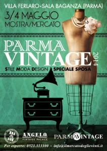 locandina Parma Vintage 2014