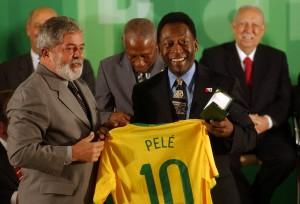 Pelé e Lula