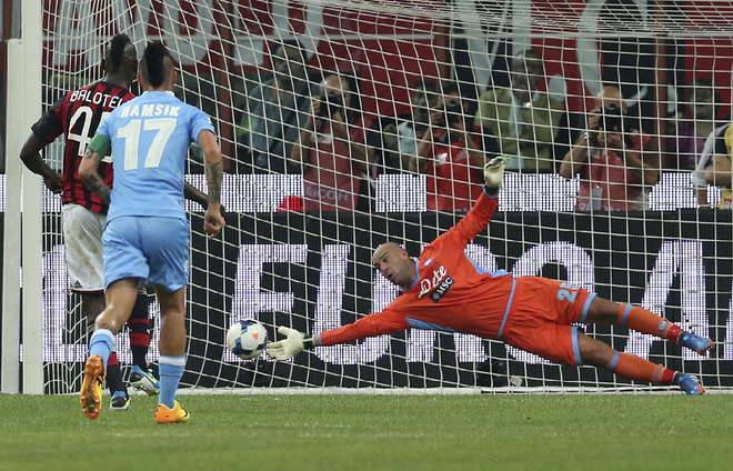 Pepe Reina SSC Napoli facebook