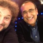 Leonardo Pieraccioni e Carlo Conti