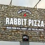 Rabbit Pizza manifesto choc