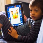 Tablet usati da bambini