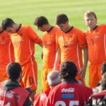 Tim Krul con gli Oranje