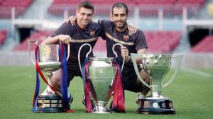 Tito Vilanova e Pep Guardiola