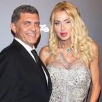 Valeria Marini e l'imprenditore Cottone