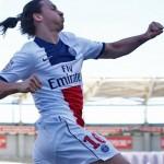 Zlatan Ibrahimovic Psg campione Francia