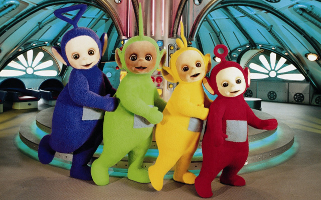 anticristo teletubbies