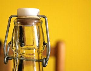 bottiglia di vetro classica