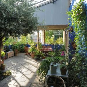 cohousing spazio comune esterno